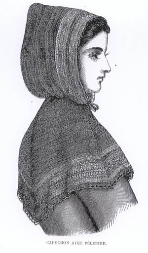 Зимняя мода 1860-х
