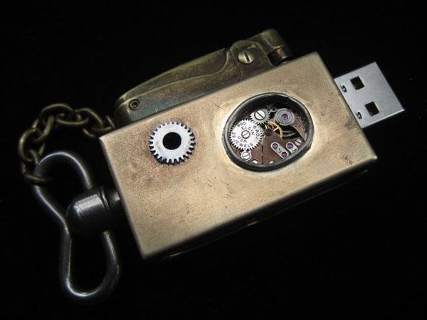 Steampunk Flash Drives (Фото 13)