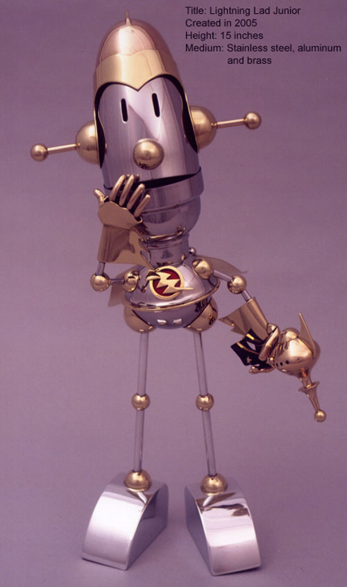 The Steampunk Robots Of Lawrence Northey. (Фото 15)