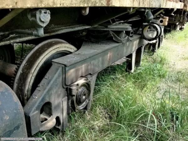 Кладбище поездов в Воскресенске (Фото 3)