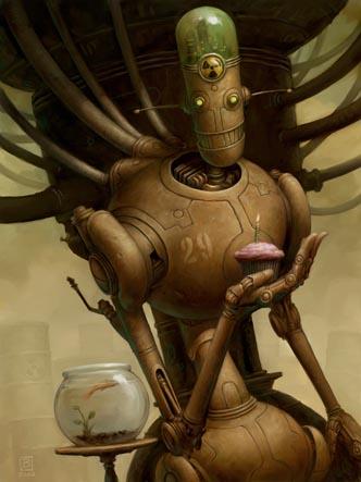 Добрые роботы Brian Despain. (Фото 15)