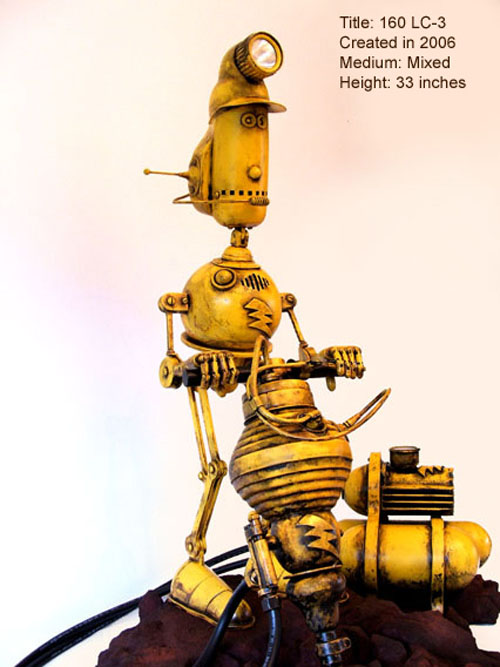 The Steampunk Robots Of Lawrence Northey. (Фото 3)