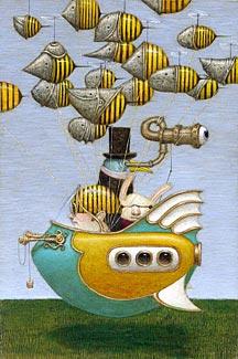 Cюрреализм в стиле стимпанк от художника Билла Кармэна(Bill Carman)