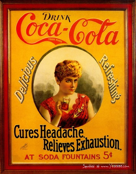 Coca-Cola в модных журналах и постеры (Фото 50)