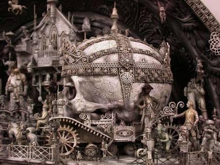 Машина апокалипсиса(мрачное искусство Криса Кукси) (Фото 7)