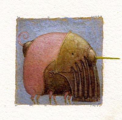 Cюрреализм в стиле стимпанк от художника Билла Кармэна(Bill Carman) (Фото 14)