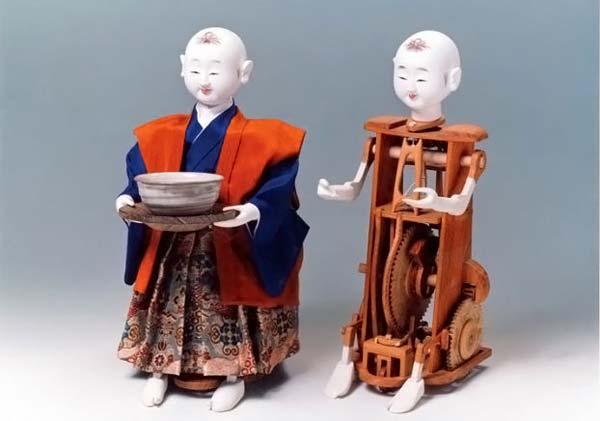 Каракури - механическая кукла на основе часового механизма.