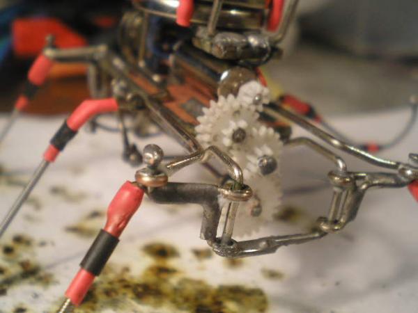 Прочие мои поделки - механические козявки. Не стим, зато родные в доску )) (Фото 17)