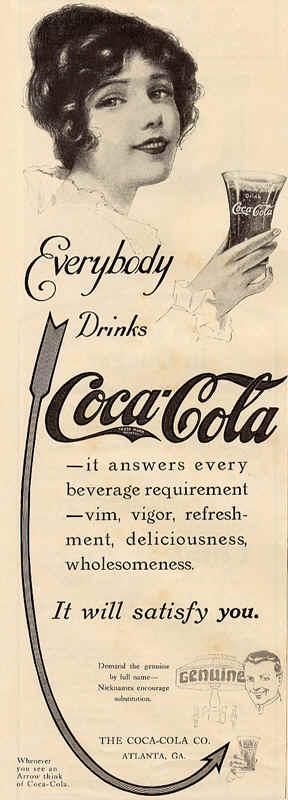 Газетная реклама Coca-Cola (Фото 21)