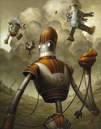 Добрые роботы Brian Despain. (Фото 4)