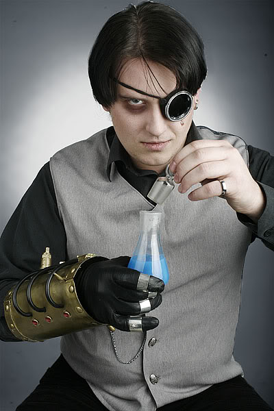 Фотосессия по мотивам стимпанка. (Фото 8)