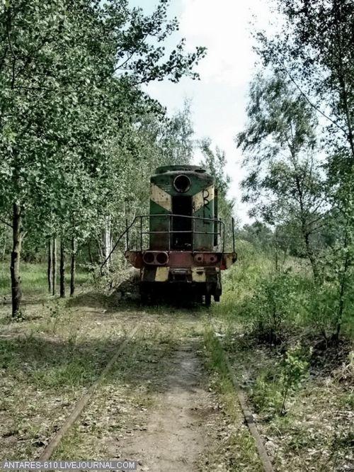 Кладбище поездов в Воскресенске