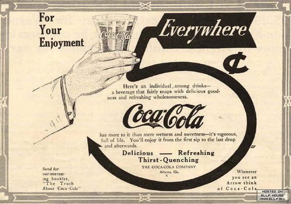 Газетная реклама Coca-Cola (Фото 12)