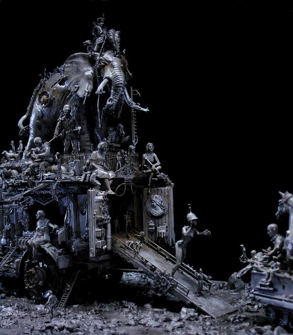 Машина апокалипсиса(мрачное искусство Криса Кукси) (Фото 11)