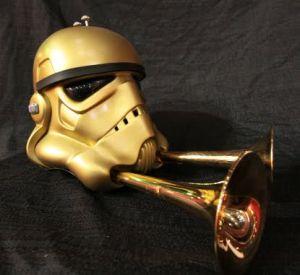 Stormtrooper helmet. Шапка штурмовика-стимера. (Фото 8)