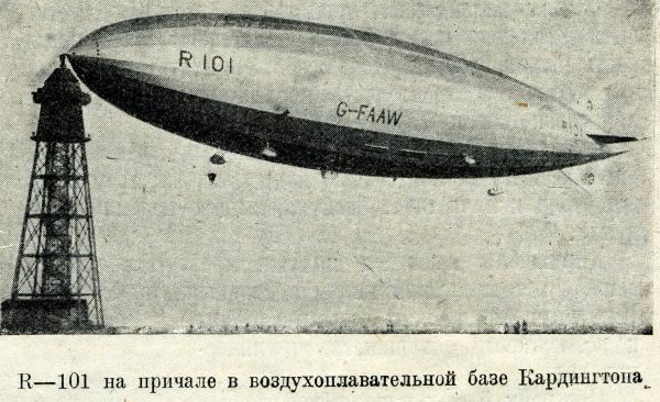 Воздушный Корабль  R - 101