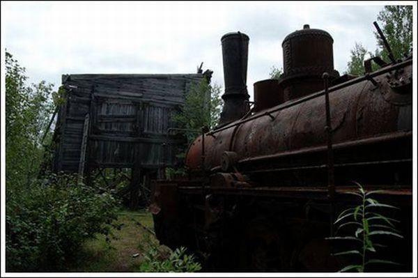 Кладбище паровозов (Фото 5)