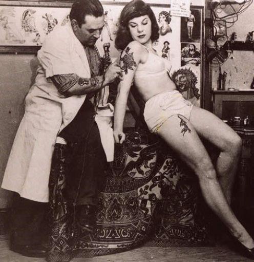 Викторианская татуировка. (Фото 22)