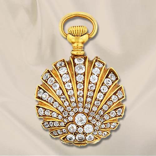Часы-медальоны Викторианской эпохи (Фото 2)