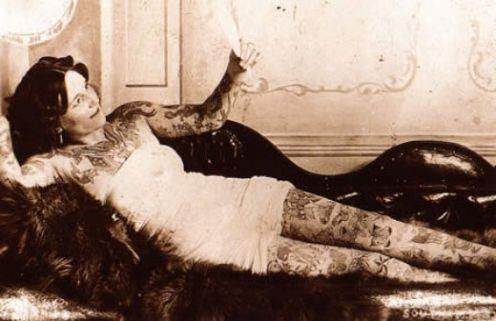 Викторианская татуировка. (Фото 14)