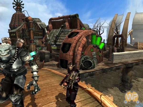 Silverfall,Давольно затягивающая SteamPunk RPG (Фото 2)
