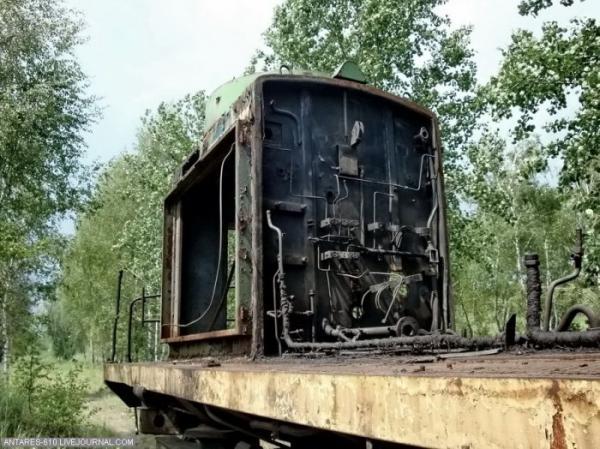 Кладбище поездов в Воскресенске (Фото 2)