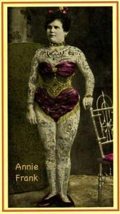 Викторианская татуировка. (Фото 11)