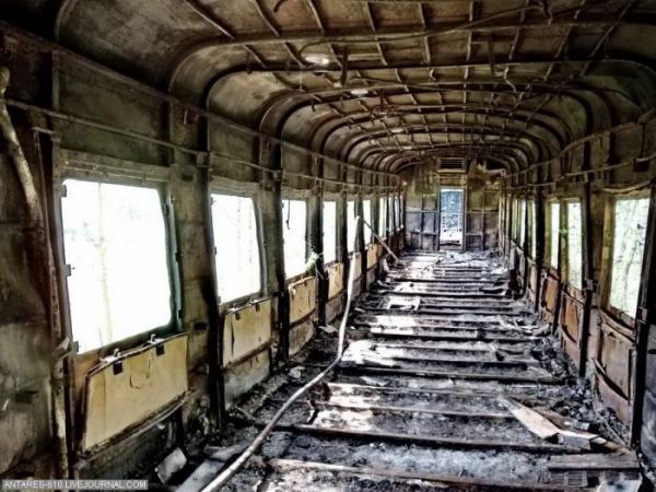 Кладбище поездов в Воскресенске (Фото 8)