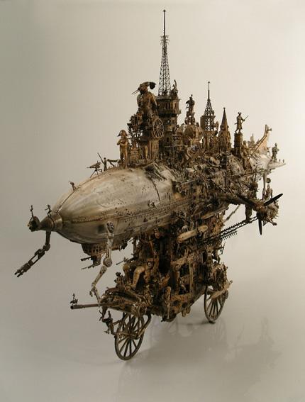 Машина апокалипсиса(мрачное искусство Криса Кукси) (Фото 2)