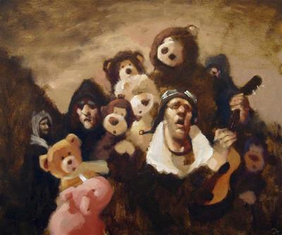 Пабло Тапиа - медведи и дирижабли