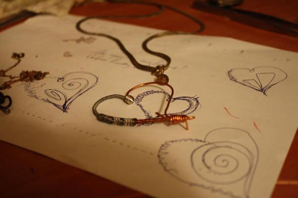 Кулон в виде сердца (Фото 3)