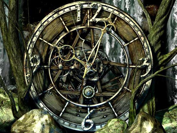 Steampunk Clock Screensaver Water Clock 3d Screensaver