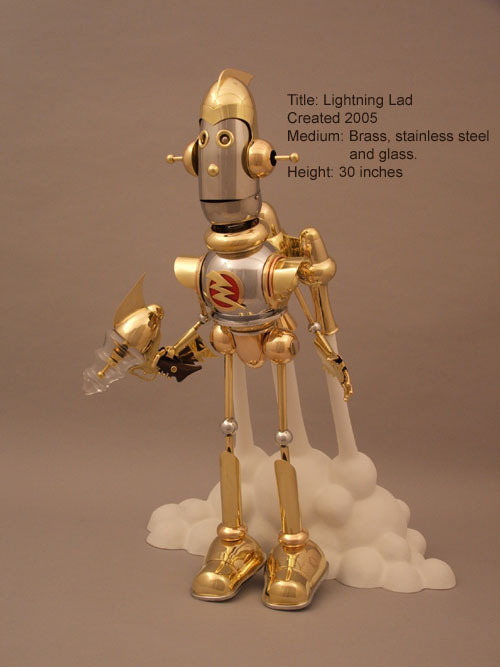 The Steampunk Robots Of Lawrence Northey. (Фото 14)