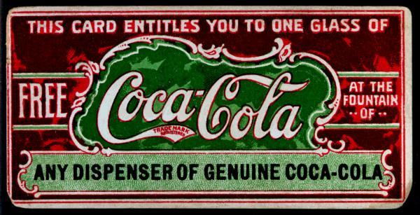 Coca-Cola в модных журналах и постеры