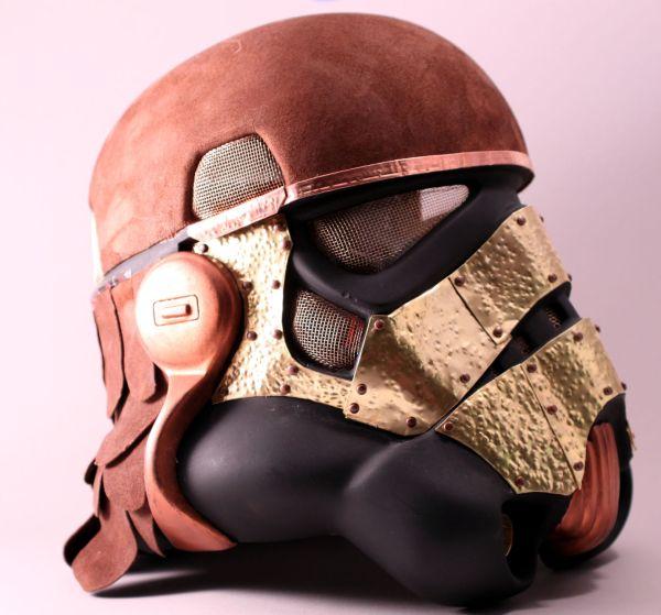 Stormtrooper helmet. Шапка штурмовика-стимера. (Фото 10)