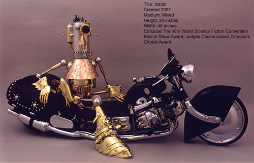 The Steampunk Robots Of Lawrence Northey. (Фото 22)