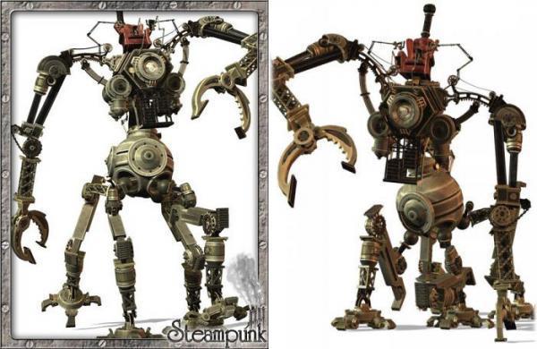 3D Models Steam-Mech.