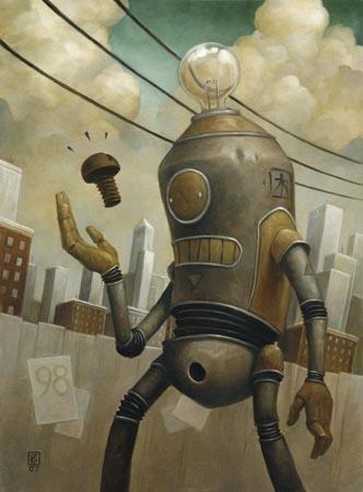 Добрые роботы Brian Despain. (Фото 10)