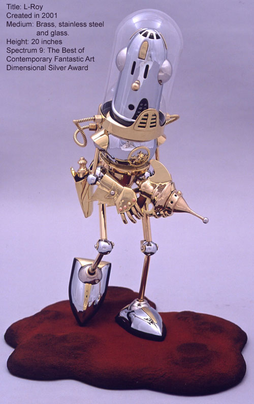 The Steampunk Robots Of Lawrence Northey. (Фото 12)