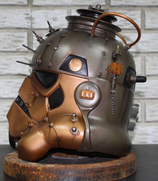 Stormtrooper helmet. Шапка штурмовика-стимера. (Фото 13)