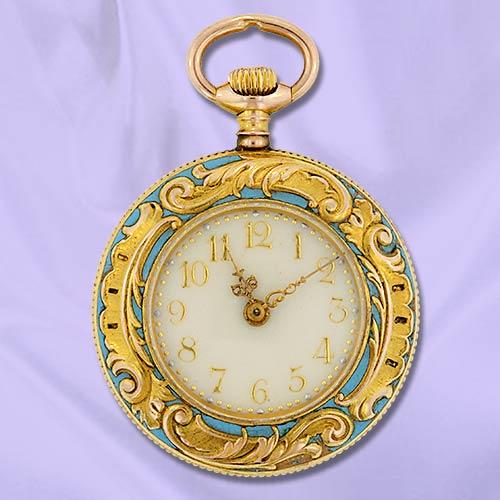 Часы-медальоны Викторианской эпохи (Фото 6)