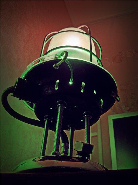 Интим-стимпанк-лампа