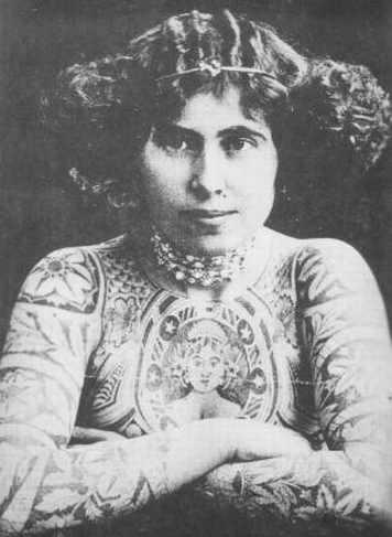Викторианская татуировка. (Фото 17)