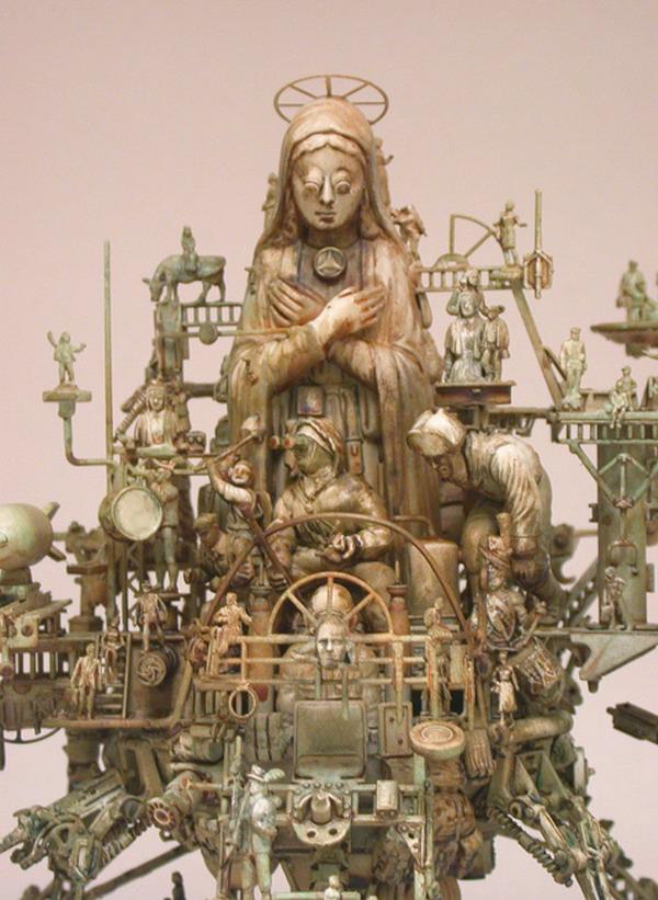 Машина апокалипсиса(мрачное искусство Криса Кукси) (Фото 14)