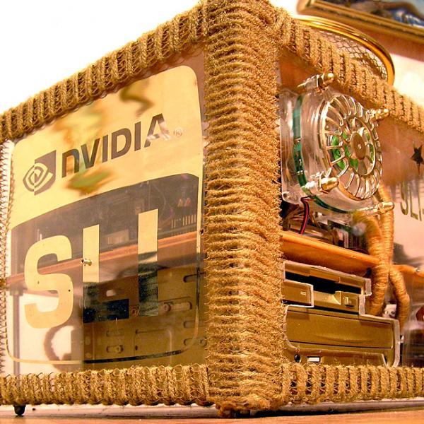NVIDIA моддинг в стилистике ретро-панк (Фото 2)