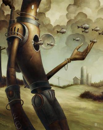 Добрые роботы Brian Despain. (Фото 2)