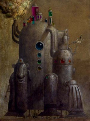 Cюрреализм в стиле стимпанк от художника Билла Кармэна(Bill Carman) (Фото 12)