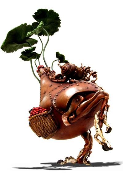 Стимпанковый зверинец Митихиро Мацуока (Фото 11)