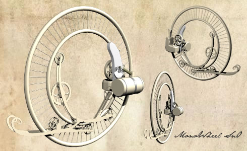Steampunk Monowheel (Фото 2)