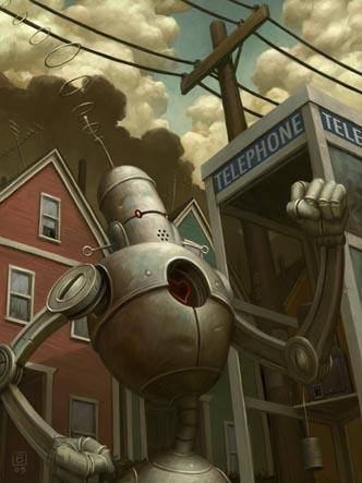 Добрые роботы Brian Despain. (Фото 7)